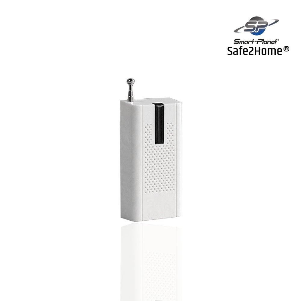 SAFEPRINT 2home ® alta calidad Cristal rotura Sensor Detector de rotura de vidrio para Juego de alarma Safe 2home - GSM - Sistema de alarma para sistemas de ...