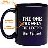 Best The Grandparent Gift Aunt Mugs - Engraved Retirement Mug - The One The Only Review
