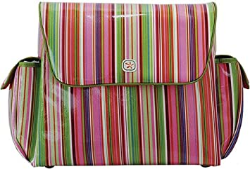 2f44f518838 Amazon.com   Fleurville Pink Stripe Mothership Diaper Bag   Diaper Tote  Bags   Baby