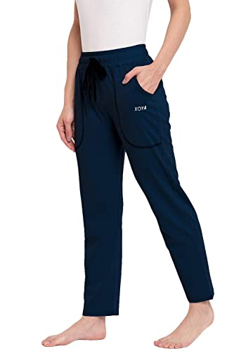 [Many colour options] XOYA Women's Cotton Solid Pajama