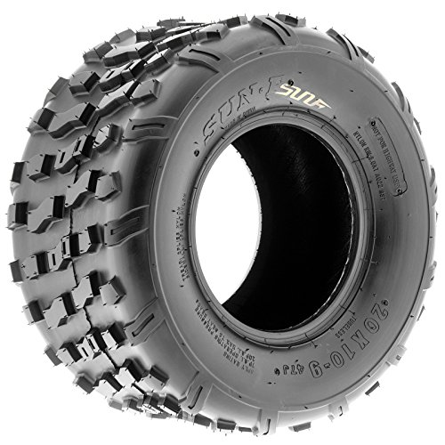 Set of 2 SunF 20x10-9 20x10x9 ATV UTV Knobby Rear Tire 4 Ply A022 by SunF (Image #8)