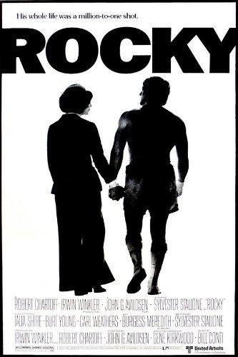 Rocky (1976) - cartel de la película montada: Amazon.es: Hogar