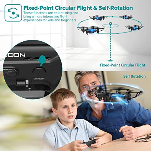 DROCON DC-65 Foldable Mini Drone for Kids