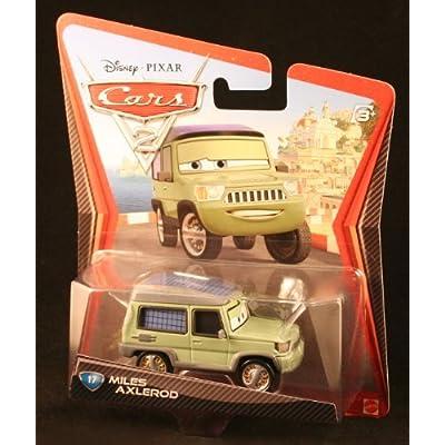 Disney / Pixar CARS 2 Movie 155 Die Cast Car #17 Miles Axlerod by Mattel: Toys & Games