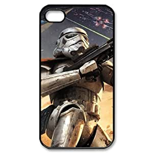 C-EUR Customized Print Star Wars Pattern Back Case for iPhone 4/4S