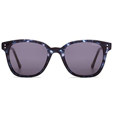 64a73b4ab87 Image Unavailable. Image not available for. Color  Komono the Renee Indigo  Demi   Black Sunglasses