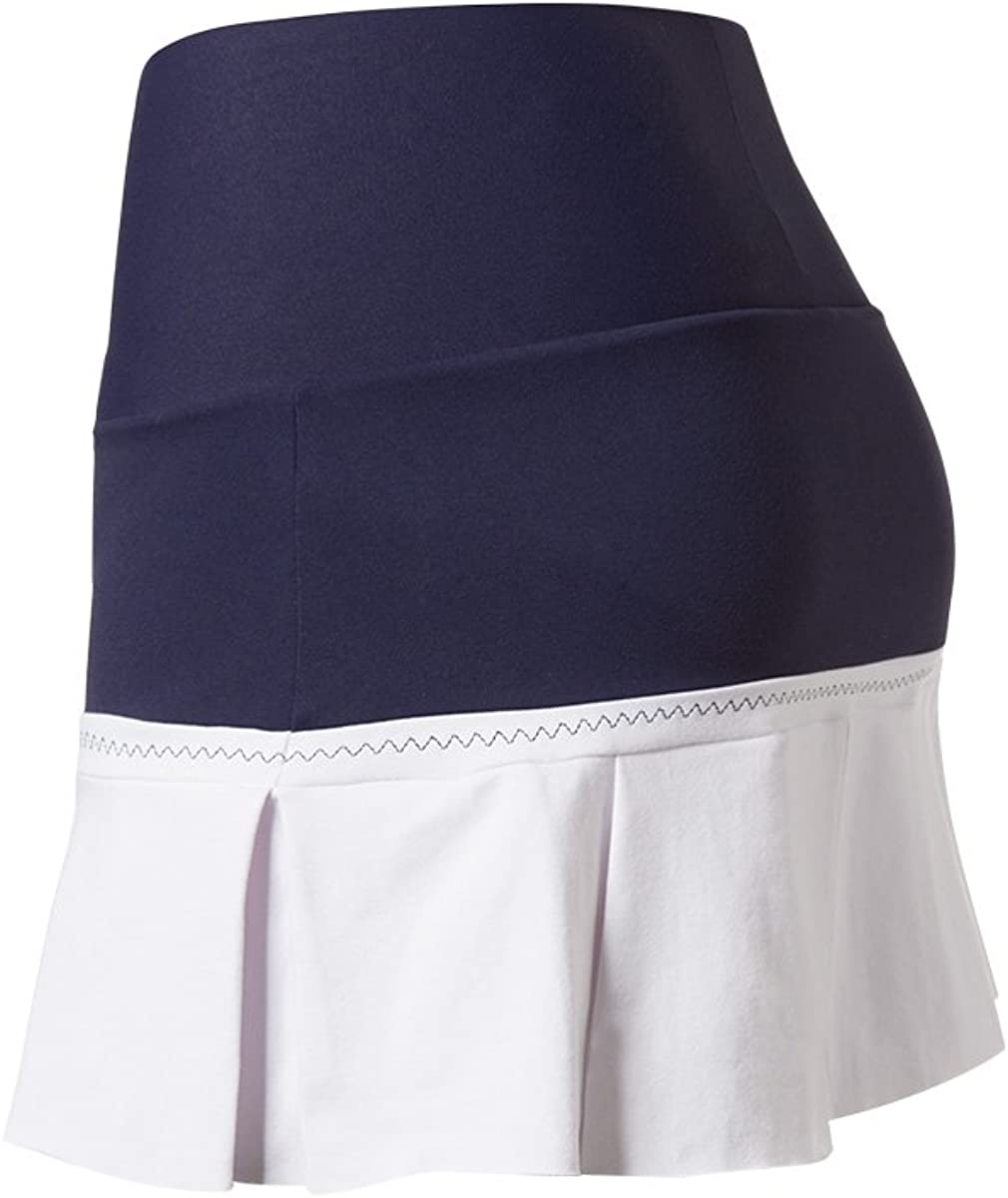 Naffta Tenis Padel - Falda-Short para Mujer, Color Marino/Blanco ...
