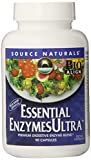Source Naturals Essential EnzymesUltra, 90 Vegetarian Capsules (Pack of 12)