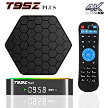 BPSMedia® 2017 (Upgraded Version) T95Z Plus 4K Amlogic S912 Set Top TV Box Bluetooth Android 6.0 Lollipop OS XBMC Octa Core Google Streaming Media Player 2GB - 16GB Emmc with WiFi 2.4/5GHz HDMI DLNA