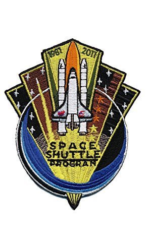 Patch Squad Men's NASA Space Shuttle Program Commemorative Patch