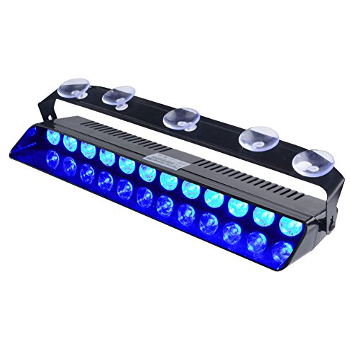 Blue Led Emergency Vehicle Lights in US - 3