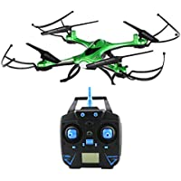 JJRC H31 6-Axis Gyro 4CH 2.4G Quadcopter, UAV, Drone, Waterproof Drone RC Quadcopter with Headless Mode and One-key Return(Green)