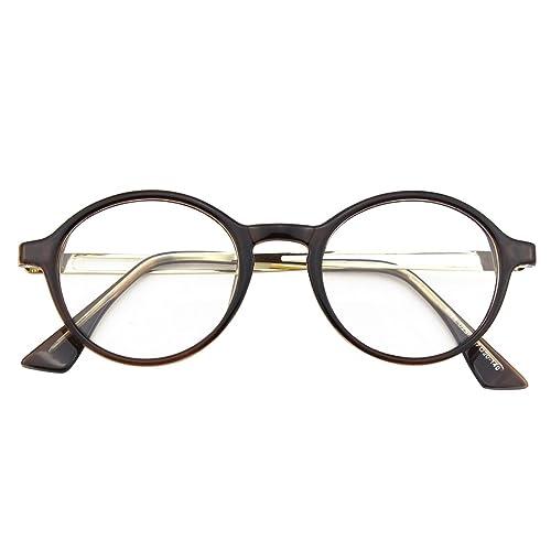 CGID CN94 Retro Clubmaster Wayfarer Anteojos Lente Claro Gafas Para Mujer y Hombre