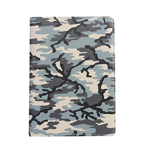 360 Para Protector Cubierta Caso Del elecfan Camuflaje 2 Smartcase La ® Negro Soporte Air a01 Ipad Grados Cuero Estuche De ipad Sueño Pantalla Negocios 2 xXZPOHqwC