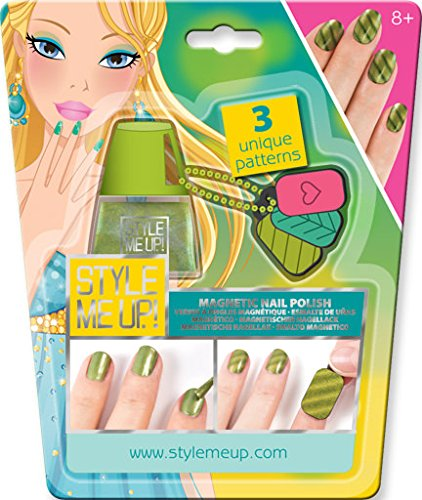 Amazon Style Me Up Mini Green Magnetic Nail Art Toys Games