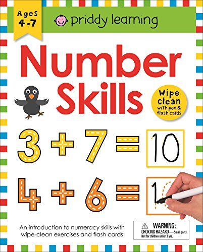 Wipe Clean Workbook: Number Skills (enclosed spiral binding) (Wipe Clean Learning Books)