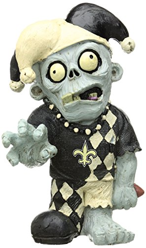 New Orleans Saints Resin Thematic Zombie ()