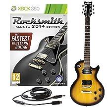 Rocksmith 2014 Xbox 360 + New Jersey II Electric Vintage Sunburst