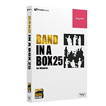 amazon co jp pg music band in a box 25 for windows megapak 楽器