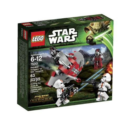 LEGO Star Wars Republic Troopers vs Sith Troopers 75001 -
