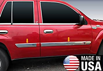 CHEVY TRAILBLAZER 2002-2009 BODY SIDE MOLDINGS Universal TRIM Moldings For