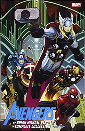 Amazon Avengers By Brian Michael Bendis The Complete