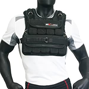 Mir 20LBS (SHORT STYLE) ADJUSTABLE WEIGHTED VEST