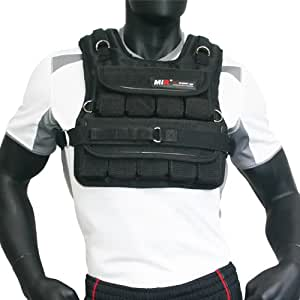 MIR - 40LBS (SHORT STYLE) ADJUSTABLE WEIGHTED VEST
