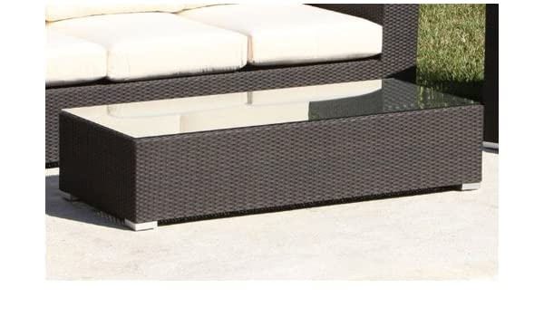 Cool Amazon Source Outdoor King Collection All Weather Wicker Coffee Table Patio Coffee Tables Garden & Outdoor Top Search - Lovely resin wicker side table Beautiful