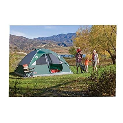 COLEMAN Oasis 6 Person Family C&ing Tent w/ Waterproof WeatherTec - 12u0027 x 10  sc 1 st  Amazon.com & Amazon.com : COLEMAN Oasis 6 Person Family Camping Tent w ...
