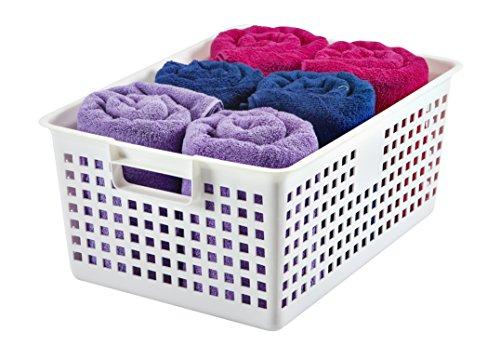 IRIS Extra Plastic Storage Basket