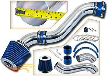 Filter 02-05 Chevrolet Trailblazer 4.2 I6 ST Racing Blue Short Ram Air Intake Kit