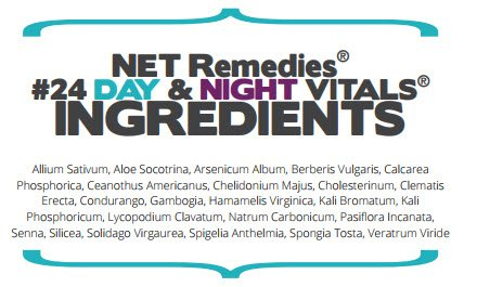 NET Remedies #21 Day Vitals 60ml