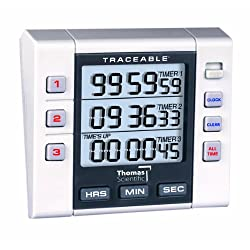 Thomas 5000 3 Channel Alarm Timer, 0.001 Percent Accuracy, 3 Width x 3-1/4 Height x 1 Depth