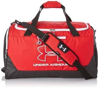 Under Armour Unisex Hustle Medium Duffle Bag - Red