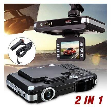 """gostyle 2 en 1 HD 720P 2.0 """", sensor G, pantalla LCD coche"""