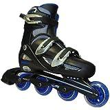 一般用 ワンタッチサイズ調整式 インラインスケート ブルー