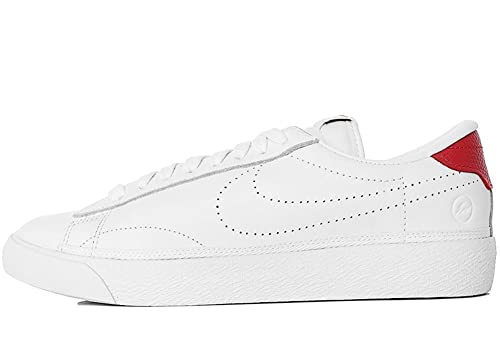 Nike Men s Air Zoom Tennis AC Fragment Classic Shoes White Red 857953 115  Limited Edition ( 796ee8963a