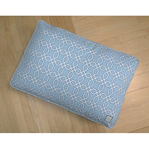 BowhausNYC Moroccan Trellis Matching Bed, Light Blue, Large