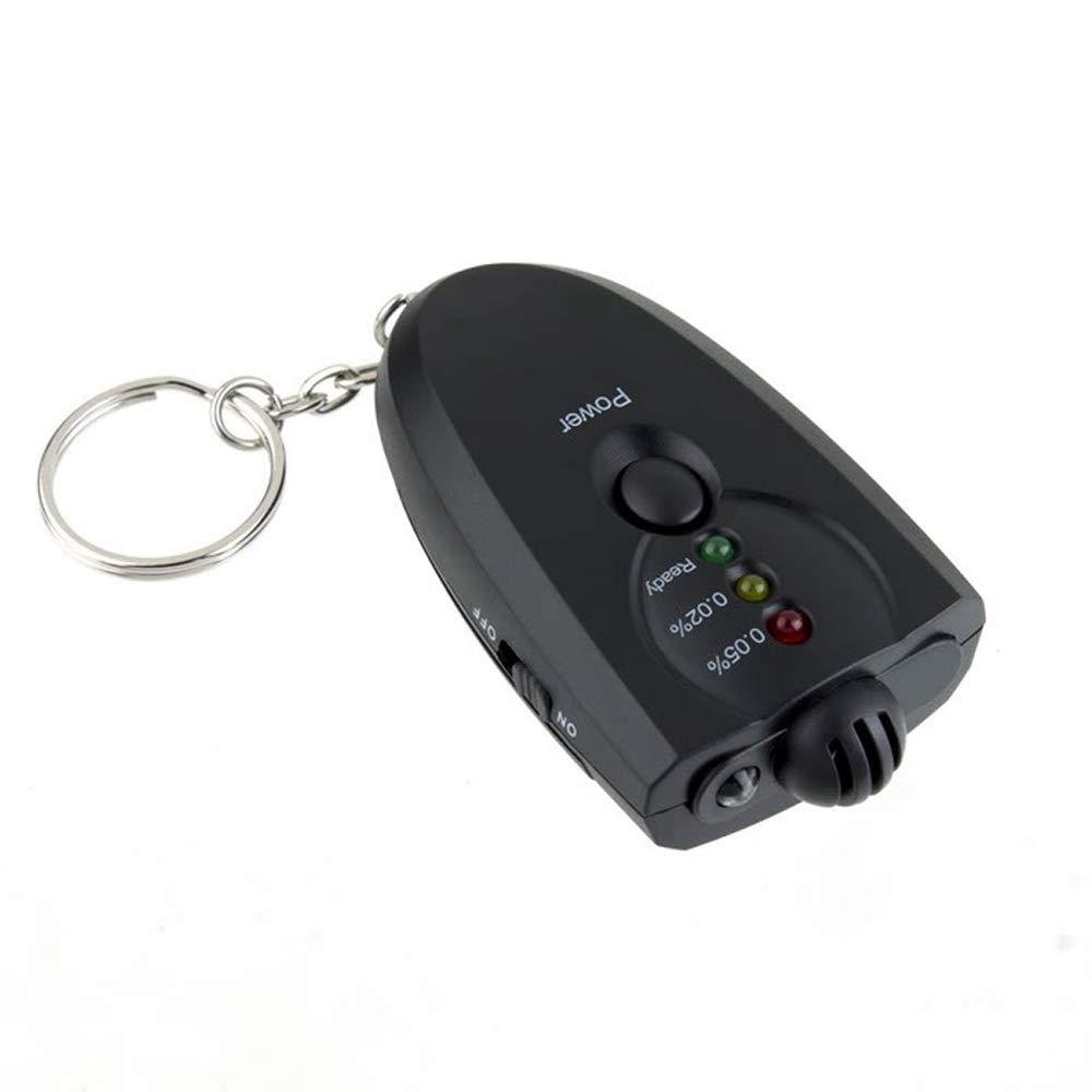 GAOHOU Alkoholtester Mini Tragbare Schlag Fahrzeug Digital Display Alkohol Schlü sselanhä nger Handlicher fü r Unterwegs