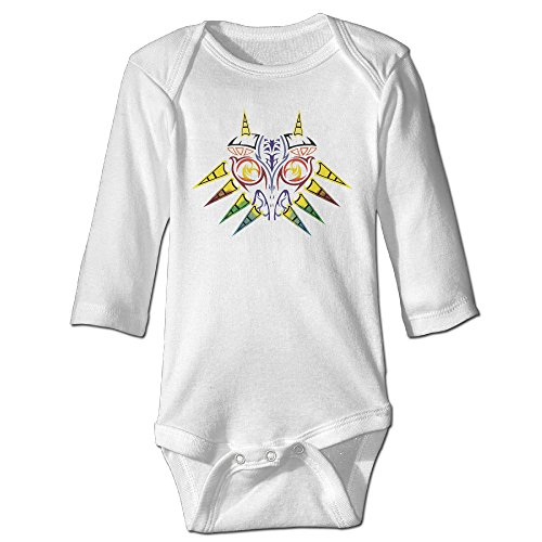 DEMOO Baby's The Legend Of Zelda LOGO Long Sleeve Clothes/Bodysuit/Climbing for sale  Delivered anywhere in Canada