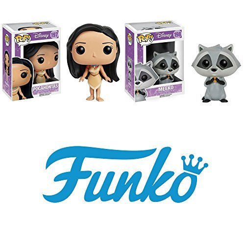 Pocahontas - Pocahontas and Meeko Pop! Vinyl Figures Set of 2