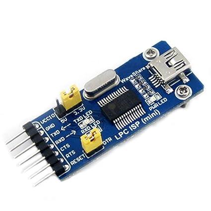 Amazon com: LPC ISP (Mini) NXP MCU ARM Programmer USB to TTL