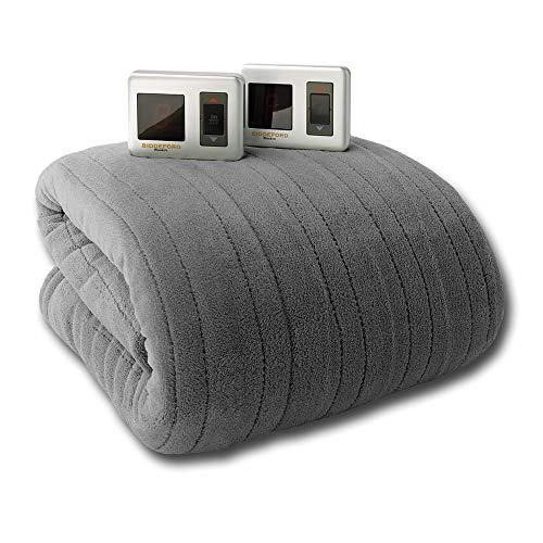 Biddeford 2023-922188-902 Knit MicroPlush Electric Heated Bl