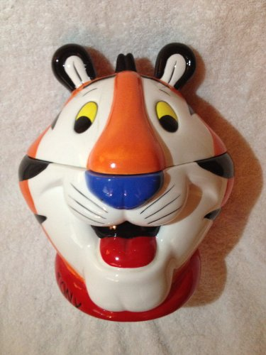 Kelloggs Tony The Tiger Cookie Jar