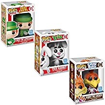 Funko POP! Cereal Ad Icons: Lucky The Leprechaun, Trix Rabbit, Sonny The Cuckoo Limited Edition