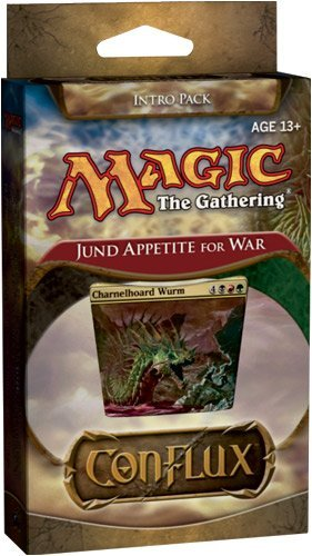 Magic the Gathering: Conflux - Theme Deck - Intro Pack - Jund Appetite for War