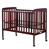 Costzon Baby Convertible Crib Toddler Bed Infant Nursery Furniture Wooden (Cherry)