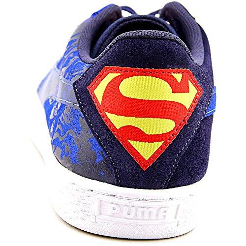 Puma Suede Superman 2 Jr Bambino Camoscio Scarpe ginnastica