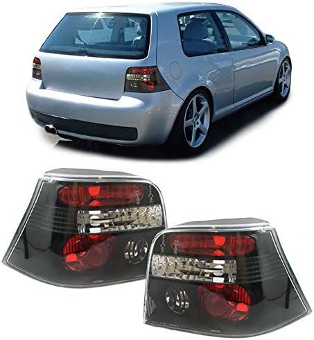 Carparts Online 13161 Klarglas Rückleuchten Schwarz Auto